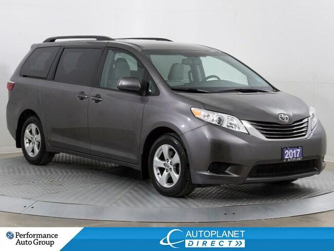 2017 Toyota Sienna LE, Back Up Cam, Heated Seats, Alloys, Bluetooth! Minivan
