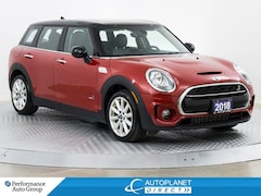2018 MINI Cooper Clubman Cooper S AWD, Essential + Loaded Pkg, Sunroof! Wagon