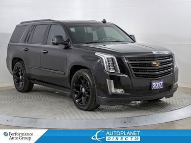 2017 Cadillac Escalade 4x4 Platinum, Heads Up Display, Navi, Back Up Cam! SUV