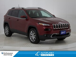 2017 Jeep Cherokee Limited 4x4, Luxury Group, Navi, Pano Roof! SUV