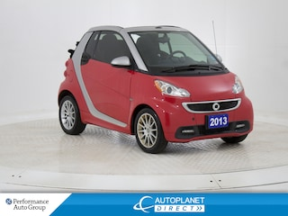 2013 smart fortwo passion Convertible Top, Navi, Heated Seats! Convertible