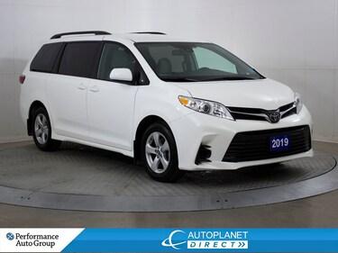 2019 Toyota Sienna LE, 8 Pass,Back Up Cam, Heated Seats,Safety Sense! Van Passenger Van