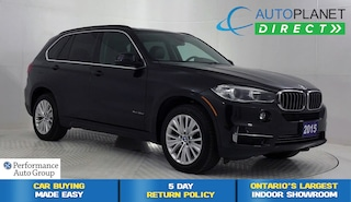 2015 BMW X5 xDrive 35d, Navi, Back Up Cam, Pano Roof! SUV