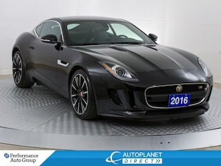 2016 Jaguar F-Type S Coupe Surpercharged, Navi, Glass Roof! Coupe