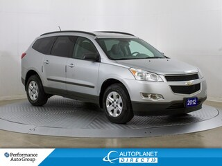 2012 Chevrolet Traverse LS, Remote Start, Ontario Vehicle! SUV
