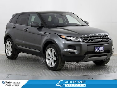 2015 Land Rover Range Rover Evoque Pure 4x4, Navi, Back Up Cam, Pano Roof! SUV