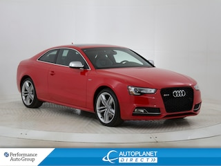 2015 Audi S5 3.0T Quattro, Technik, Navi, Pano Roof, Bluetooth! Coupe