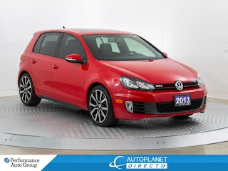 2013 Volkswagen GTI 2.0T, Sunroof, Heated Seats, Leather! Hatchback