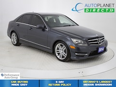 2014 Mercedes-Benz C-Class C300 4MATIC, Moon Roof, Heated Seats! Sedan