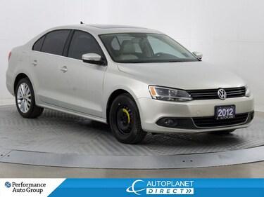 2012 Volkswagen Jetta TDI, Highline, Navi, Heated Seats, Bluetooth! Sedan