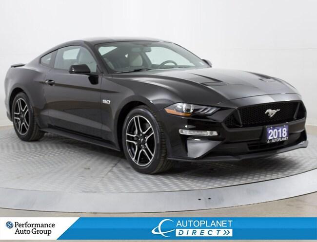 2018 Ford Mustang GT, Navi, Back Up Cam, Remote Start! Sedan