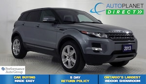 2013 Land Rover Range Rover Evoque Pure Plus 4x4, Navi, Pano Roof, Back Up Cam!