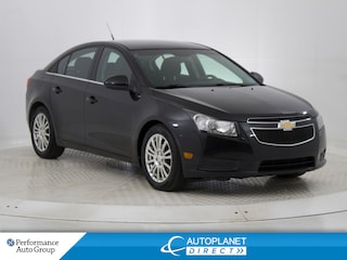 2011 Chevrolet Cruze ECO Turbo, OnStar, New Tires and Front Brakes! Sedan