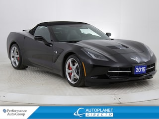 2015 Chevrolet Corvette Stingray 3LT, Soft Top Convertible, Navi! Convertible