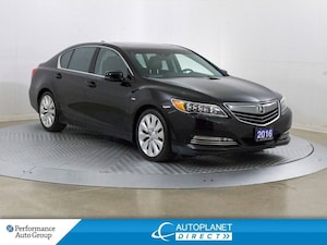 2016 Acura RLX AWD, Elite Pkg, Navi, Heads Up Display, 360 Cam!