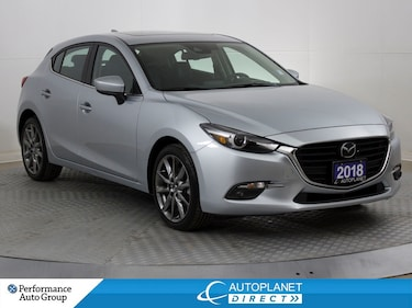 2018 Mazda Mazda3 GT,Premium, Navi, Back Up Cam, MoonRoof, Leather! Hatchback