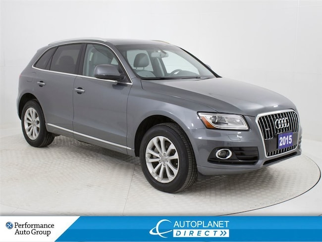 2015 Audi Q5 Quattro, Technik, Navi, Pano Roof, Back Up Cam! SUV