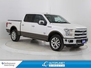 2015 Ford F-150 King Ranch Crew Cab 4x4, Navi, Back Up Cam! Truck