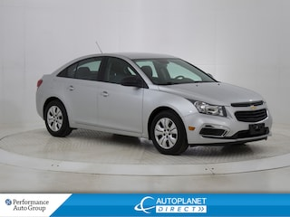 2016 Chevrolet Cruze Engine Immobilizer, One Owner! Sedan