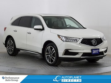 2017 Acura MDX AWD, Technology Pkg, Navi, Remote Start! SUV