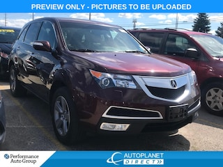 2013 Acura MDX AWD, Technology Pkg, Navi, DVD, Sunroof! SUV