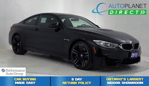 2015 BMW M4 , Driver Assist Pkg, Navi, Carbon Fiber Roof!