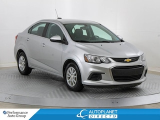 2017 Chevrolet Sonic LT, Back Up Cam, Apple CarPlay, Android Auto! Sedan