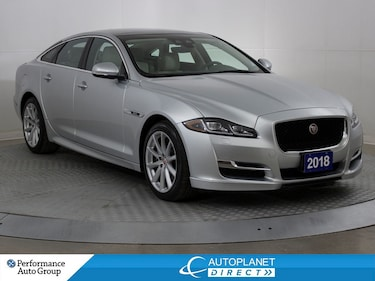 2018 Jaguar XJ AWD Supercharged 340HP, R-Sport, Navi,Back Up Cam! Sedan