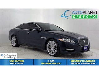 2011 Jaguar XJ Supercharged, Navi, Back Up Cam, Pano Roof! Sedan
