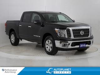 2018 Nissan Titan SV 4x4, Back Up Cam, Bluetooth! Truck Crew Cab