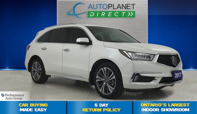 2017 Acura MDX AWD, Elite Pkg, Navi, DVD, Surround View Cam! SUV