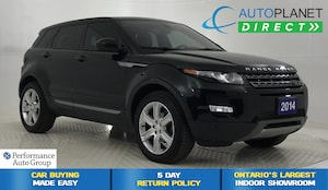 2014 Land Rover Range Rover Evoque Pure Plus 4x4, Pano Roof, Back Up Cam!