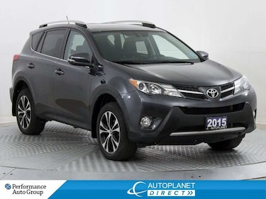 2015 Toyota RAV4 XLE, AWD, New All Season Tires and Rear Brakes! SUV