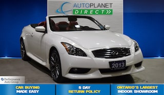 2013 INFINITI IPL G Convertible, Navi, Back Up Cam, Bluetooth! Convertible