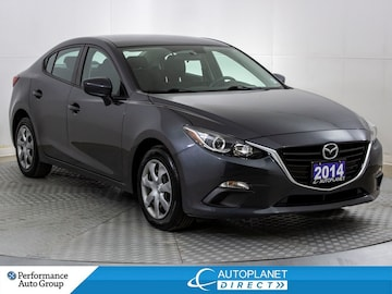 2014 Mazda Mazda3 GX-SKY, Clean Carfax, Ontario Vehicle! Sedan