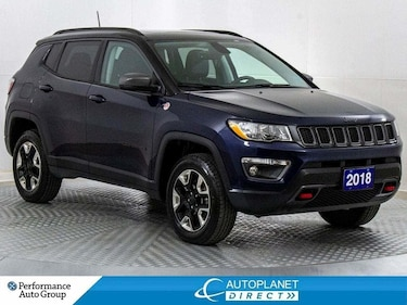 2018 Jeep Compass Trailhawk 4x4, Leather Group, Navi Group! SUV