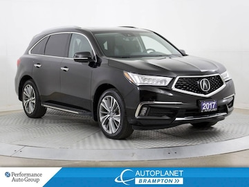 2017 Acura MDX AWD, Elite Pkg, Navi, 360 Cam, Heated Seats! SUV