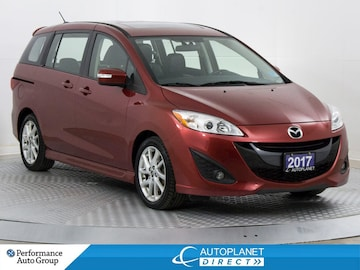 2017 Mazda Mazda5 GT, Heated Seats, Leather, Bluetooth Minivan