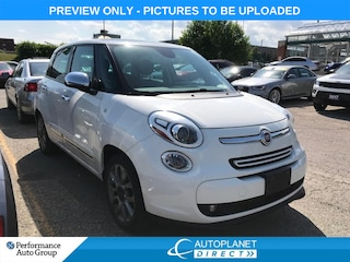 2015 Fiat 500L Lounge, Navi, Pano Roof, Heated Seats! Hatchback