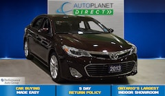 2013 Toyota Avalon XLE, Navi, Sunroof, Back Up Cam, Bluetooth! Sedan