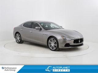 2014 Maserati Ghibli S Q4, Navi, Sunroof, Back Up Cam, Remote Start! Coupe
