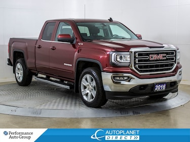 2016 GMC Sierra 1500 SLE 4x4, 6 Passenger, Back Up Cam, Remote Start! Truck Double Cab