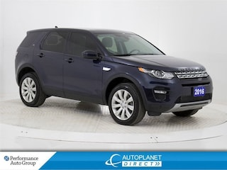 2016 Land Rover Discovery Sport HSE Si4 4x4, Navi, Pano Roof, Back Up Cam! SUV