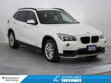 2015 BMW X1 xDrive28i, Heated Seats, Sunroof, Bluetooth! SAV