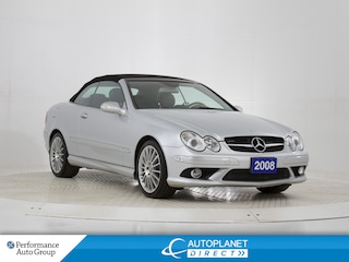 2008 Mercedes-Benz CLK-Class CLK550 Convertible, Navi, Heated/Cooled Seats! Convertible