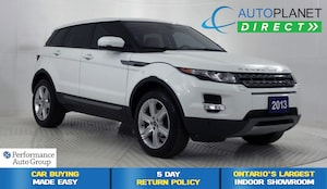 2013 Land Rover Range Rover Evoque Pure Plus 4x4, Navi, Back Up Cam, Pano Roof!