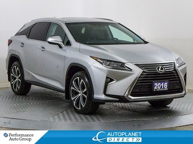 2016 LEXUS RX 350 Luxury AWD, Navi, Back Up Cam, Sunroof! SUV