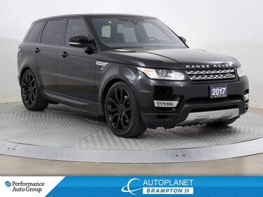 2017 Land Rover Range Rover Sport HSE Td6, 4x4, Diesel, Navi, Pano Roof! SUV