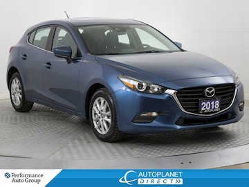 2018 Mazda Mazda3 GS, Back Up Cam, Sunroof, Heated Seats! Hatchback