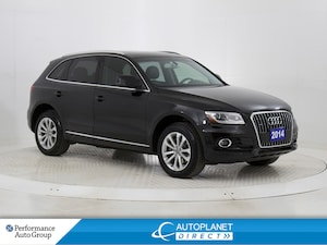2014 Audi Q5 2.0 Quattro, Progressiv, Pano Roof, Heated Seats!